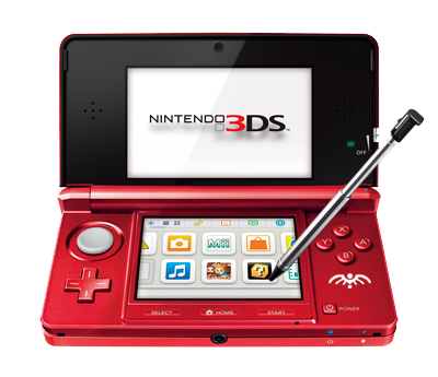 Nintendo 3DS Flair Red
