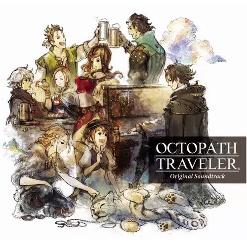 1er de Couverture des OST d'Octopath Traveler