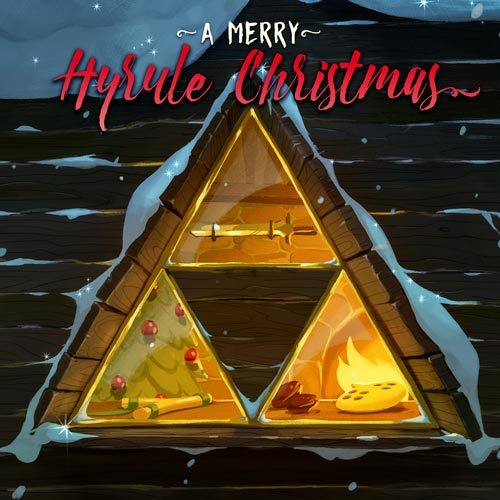 Cover - A Merry Hyrule Christmas